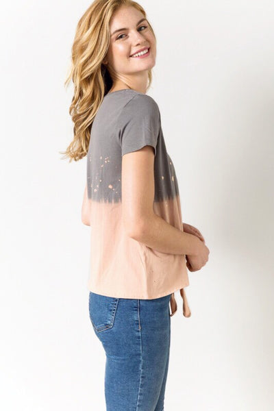 Taja Tie Front Tee - Soul Of The Rose®