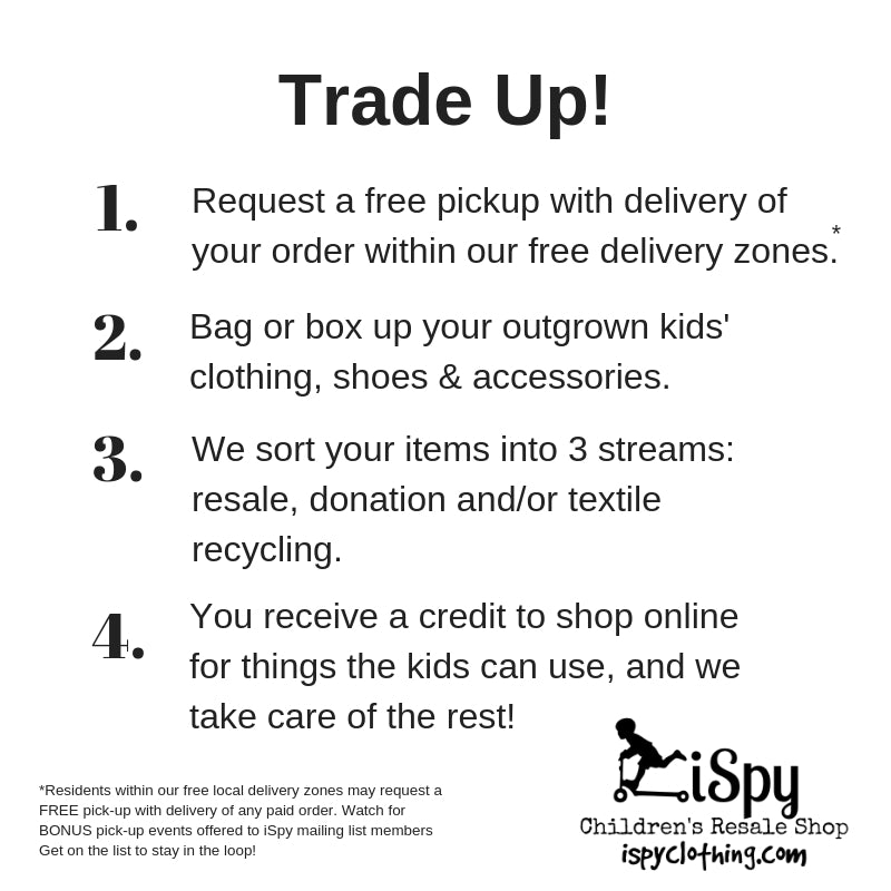 TRADE UP – iSpy Clothing