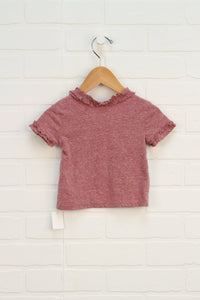 Heathered Pink Top (Size 12M)