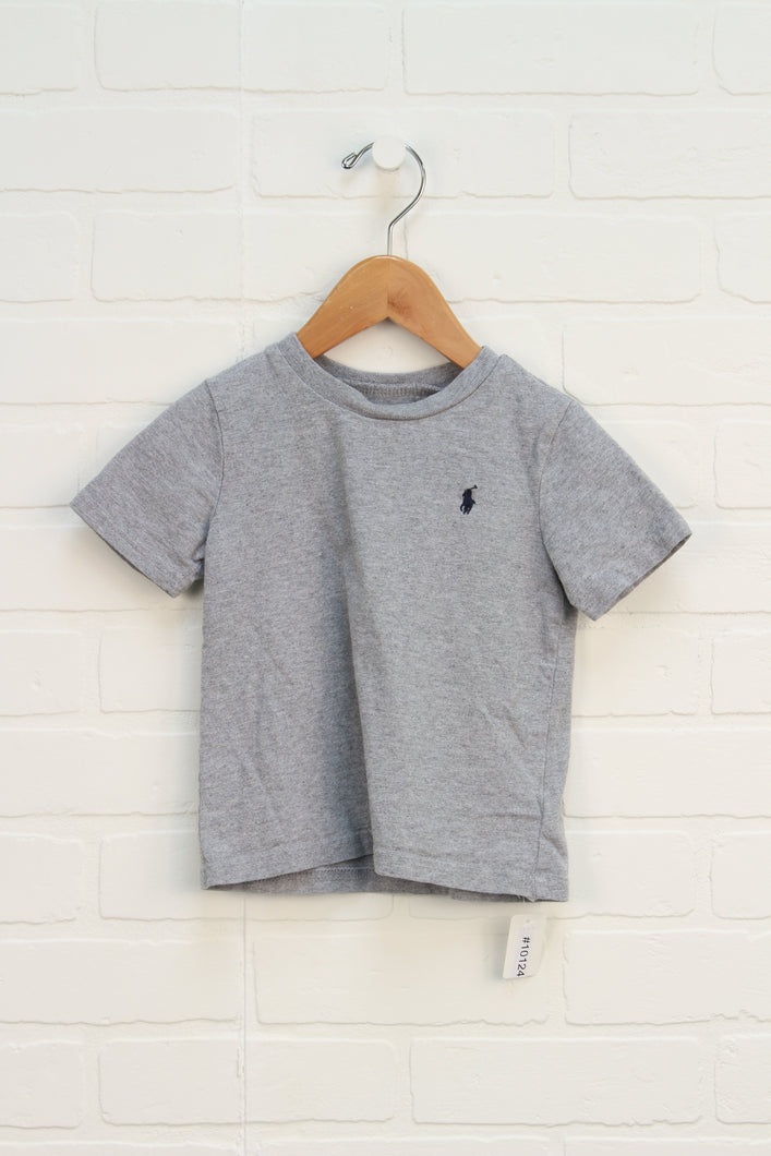 Heathered Grey T-Shirt (Size 1M)