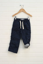 Navy Jersey Lined Pants (Size 2T)