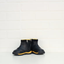 Black + Yellow Boots (Little Kids Shoe Size 4C)