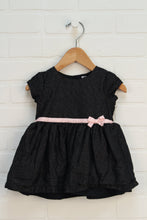 Black + Silver Party Dress (Carter's 9M)