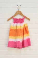 Orange + PInk Sundress (Size 6-9M)