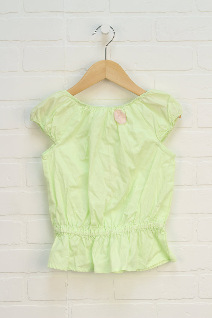 NWT Lime Blouse (Size 5)