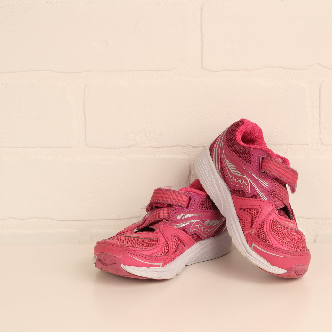 Hot Pink Runners (Little Kids Shoe Size 5)