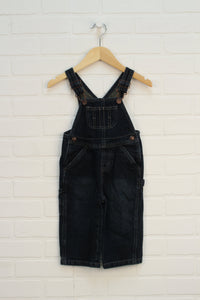 Dark Wash Overalls (Size 18M)