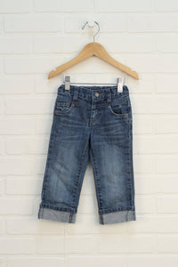 Distressed Wash Jeans (Size 18M)