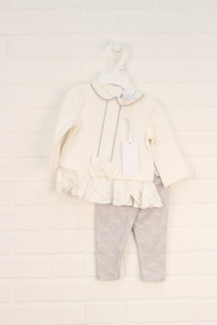 Camilla NWT Cream Outfit (Size 68/3-6M) 2 Pieces