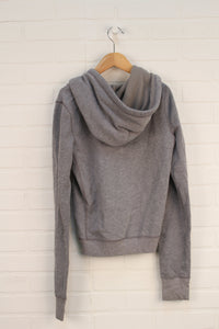 Heathered Grey Hoodie (Ladies Size S)