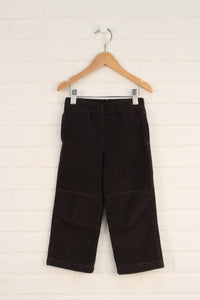 Brown Fleece Pants (Size 3T)