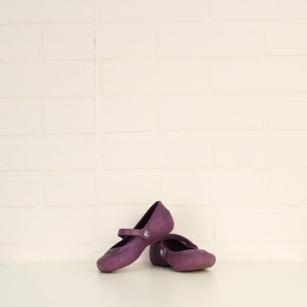 Purple Flats (Little Kids Shoe Size 8-9)
