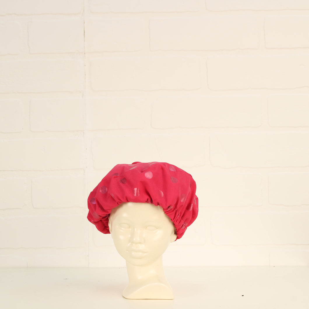 Raspberry Beret (O/S Infant - Toddler)