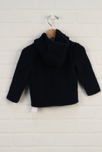 Navy Hooded Cardigan (Size 12-18M)