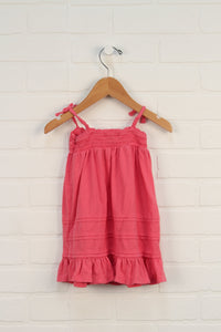 Hot Pink Tank Dress (Size 6-12M)