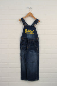 Dark Wash Overalls (Size 4)