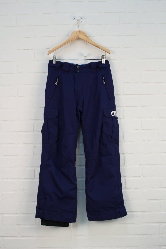 Navy Eco Rain/Slush Pants (Size 12)