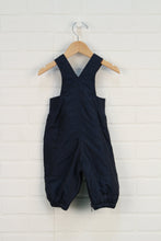 Navy Fleece Lined Snow Pants (Size S/3-6M)