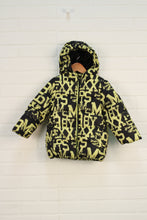 Black + Yellow Puffer Coat (Size 86/18-24M)