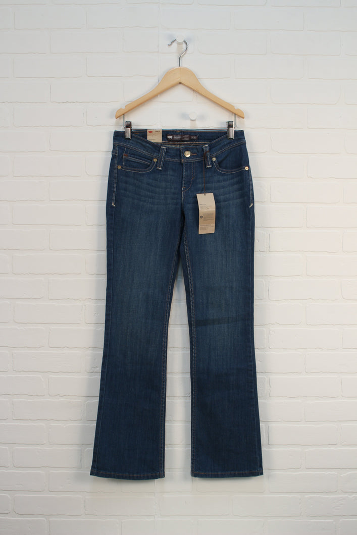 NWT Demi Curve Low Rise Bootcut Skinny Jeans (Women's Size 3/26