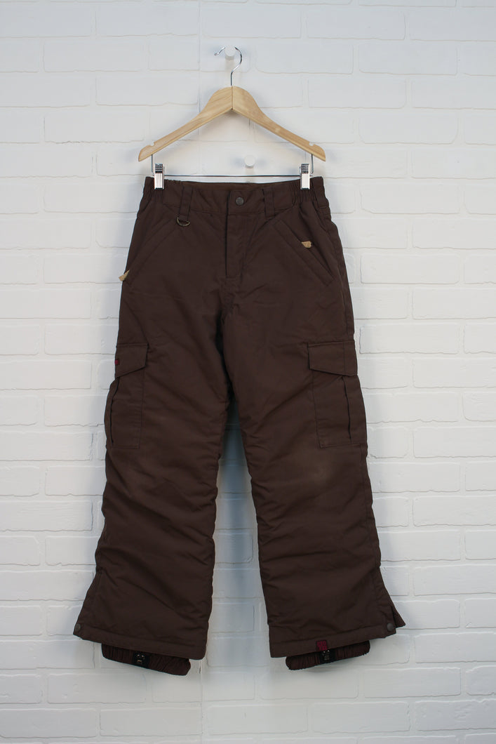 Brown Snow Pants (Size L/12)