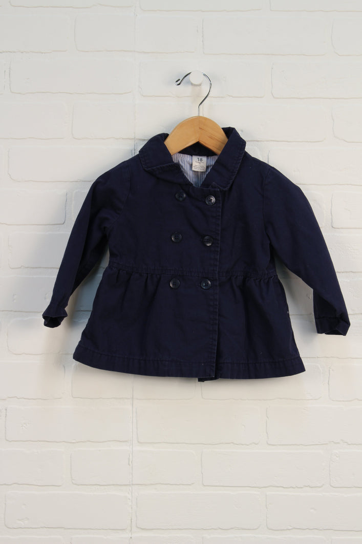Navy Double Breasted Jacket (Carter's Size 18M)