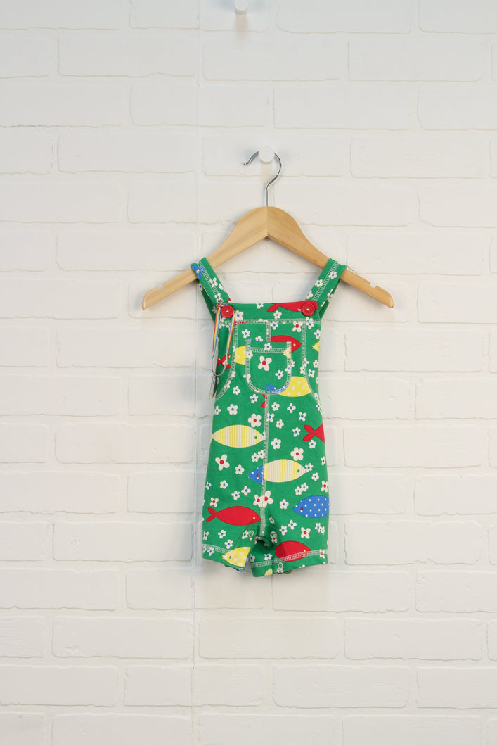 NWT Green Graphic Romper (Size Up to 3M)
