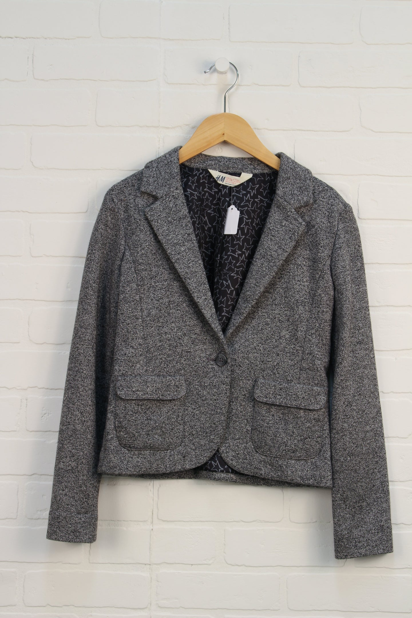Salt + Pepper Blazer (Size 11-12)