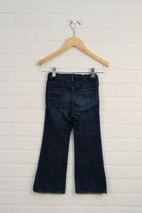 Classic Wash Bootcut Jeans (Size 4)