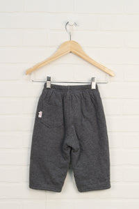 Grey Jersey Lined Sweatpants (Size 74/12M)