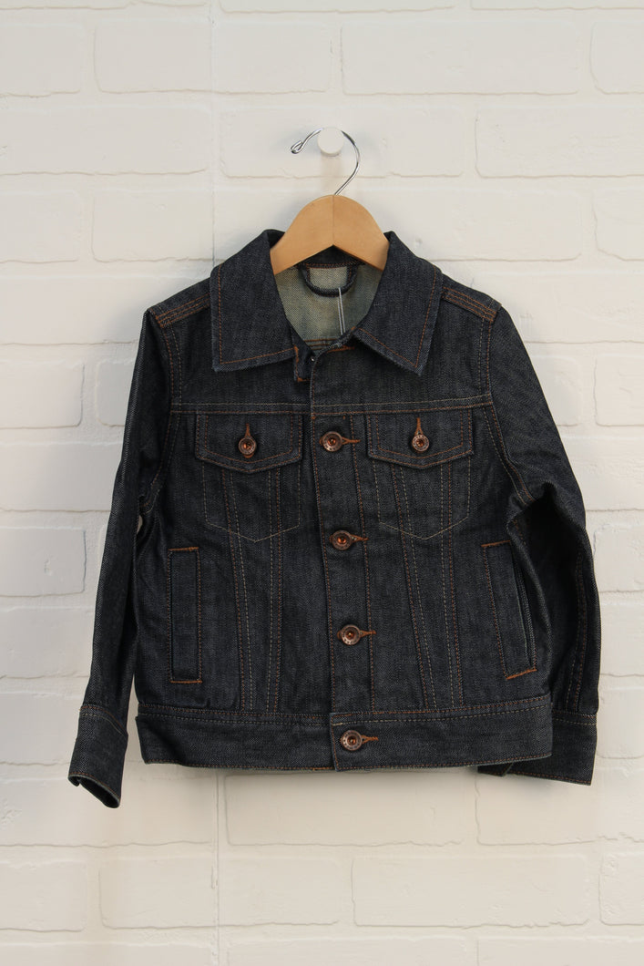 NWT Dark Wash Jean Jacket (Size 98-104/3-4) *STAFF PICK*