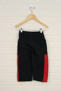 Black + Red Sweatpants (Size 4T)