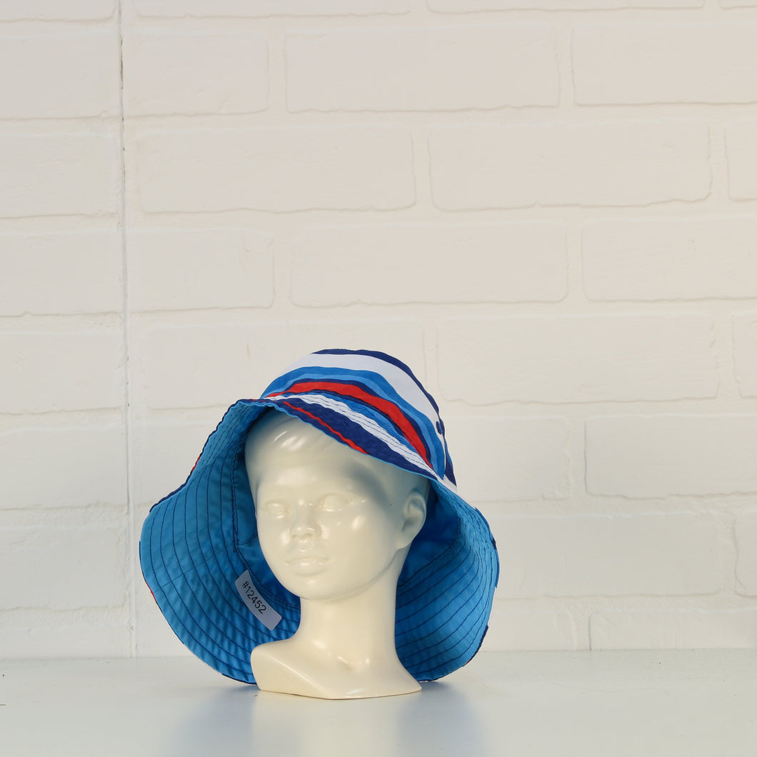 Red, White + Blue Reversible UV Hat (Size 2T)