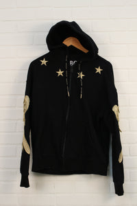 Black + Gold Hoodie (Men's Size S) *STAFF PICK*