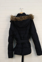 Navy Puffer Coat (Women's Size S)