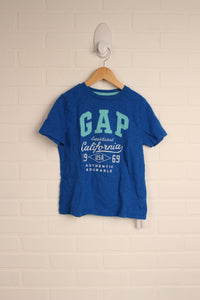 Blue Graphic T-Shirt (Size S/6-7)