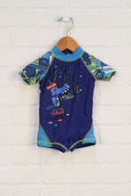 Navy Graphic Rashguard (Estimated Size 3-6M)