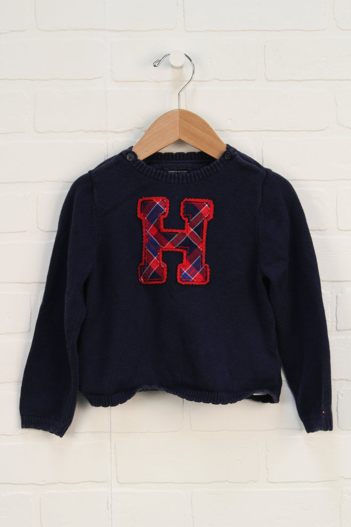 Navy Sweater (Size 4T)