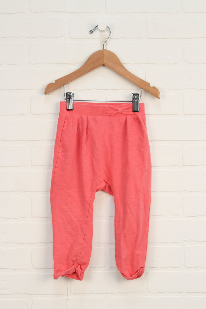 Pink French Terry Pants (Size 98/2-3)