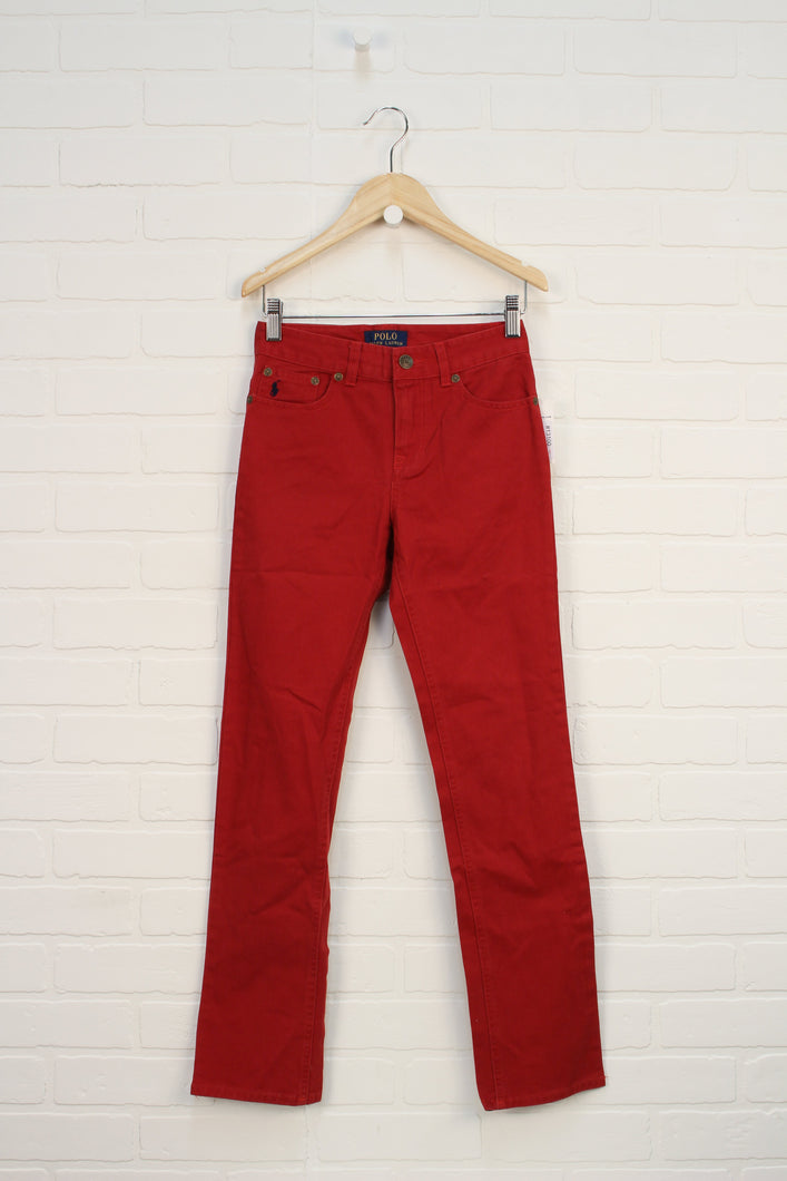 NWT Crimson Skinny Jeans (Size 8)