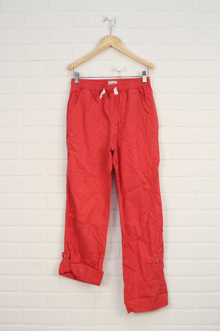 Salmon Soft Waist Pants (Size 12)