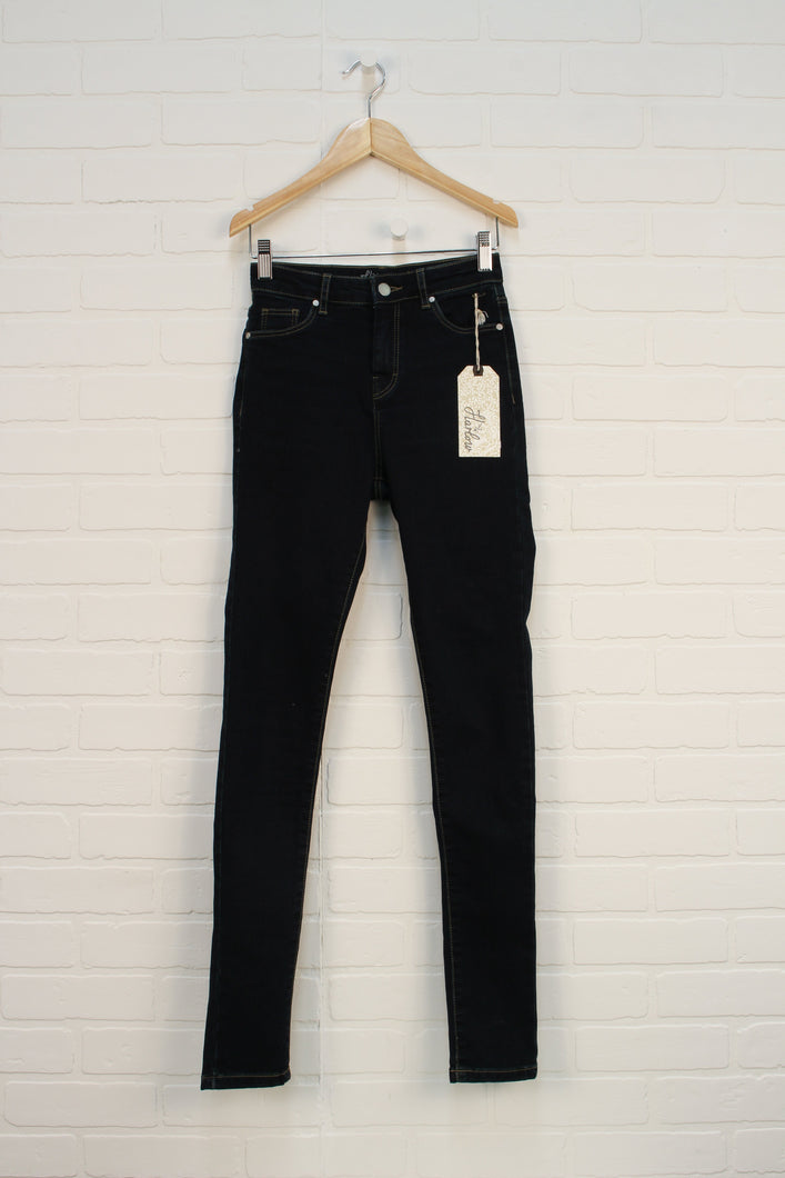 NWT Dark Wash High Rise Skinny Jeans (Women's Size 24/XS/0)