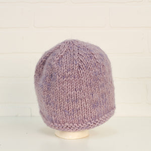 Lilac Wool Hat (O/S Kids)
