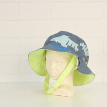 Grey Graphic Bucket Hat (Size 0-9M)
