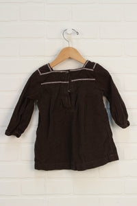Brown Corduroy Dress (Size 12-18M)