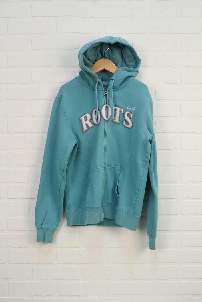 Turquoise Logo Hoodie (Women's Size S)
