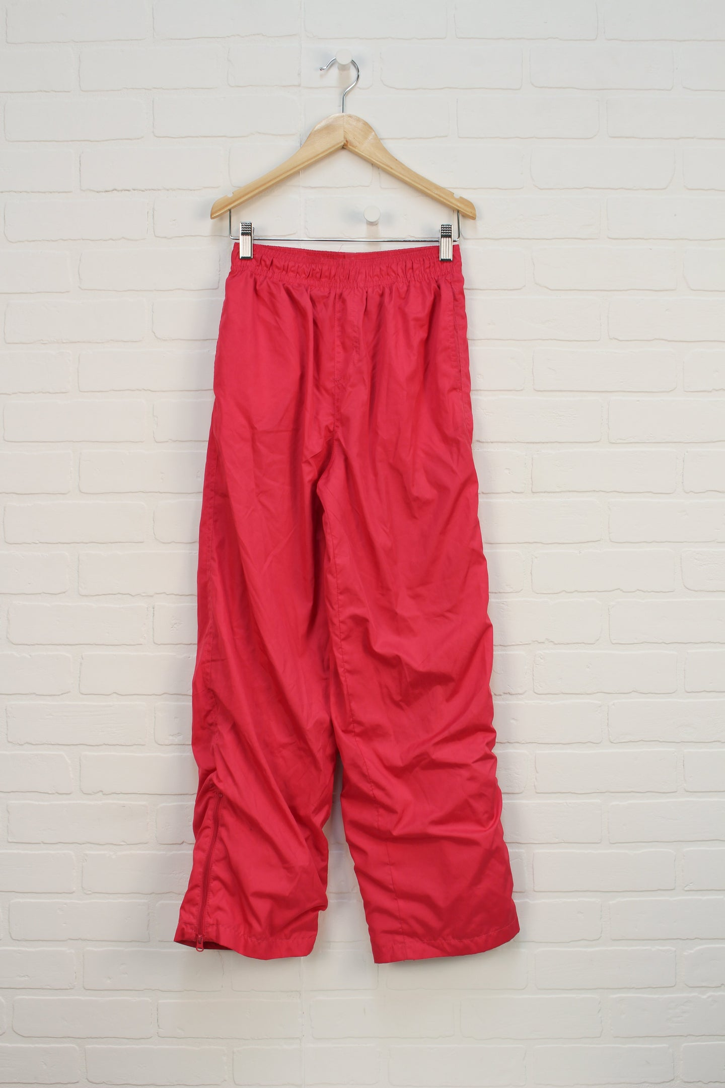 Hot Pink Jersey Lined Splash Pants (Size 10-12)