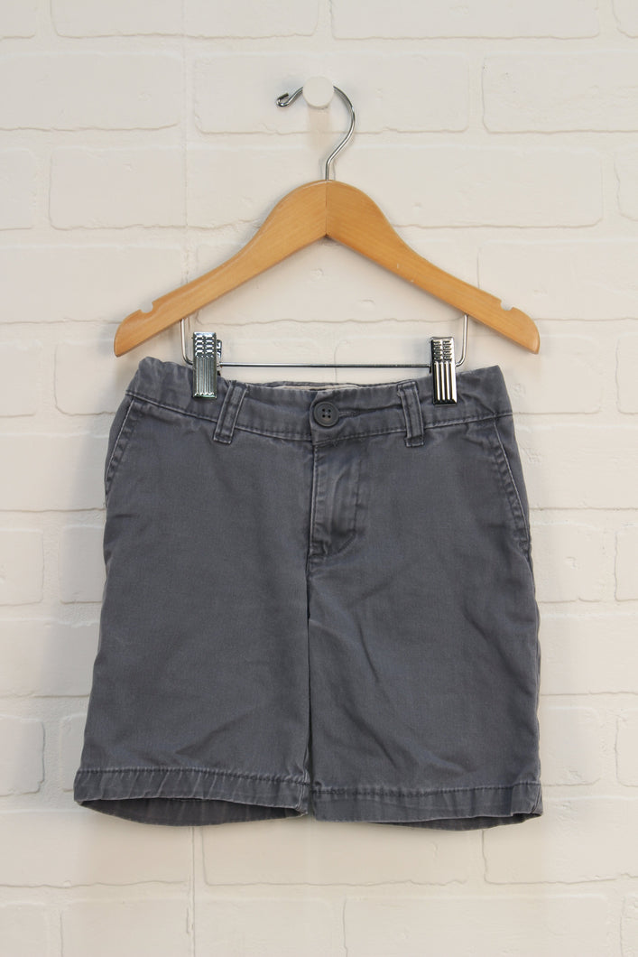 Grey Denim Shorts (Size 4)
