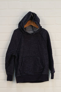 Navy + White Hoodie (Size S/5-6)