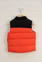NWT Orange + Black Puffer Vest (Size 3)